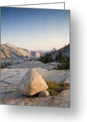 Tuolumne Greeting Cards - Tuolumne, Yosemite National Park, Rocks Greeting Card by Dawn Kish