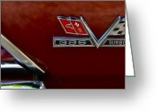 Chrome Jet Greeting Cards - Turbo Classic Greeting Card by Gwyn Newcombe