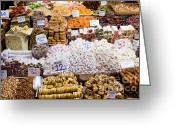 Apricots Photo Greeting Cards - Turkish Delight in Istanbul Greeting Card by Artur Bogacki