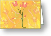 Linda D Seacord Greeting Cards - Turkish Poppy Greeting Card by Linda Seacord