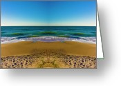 East Coast Digital Art Greeting Cards - Turn the Page Greeting Card by East Coast Barrier Islands Betsy A Cutler