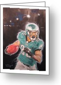 Sports Art Painting Greeting Cards - Twenty Five Greeting Card by Keith Hancock