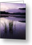 Twilight Greeting Cards - Twilight Glow Greeting Card by Mike  Dawson