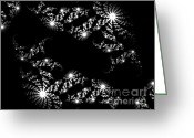 Twinkle Greeting Cards - Twinkle Twinkle Greeting Card by Charleen Treasures