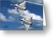 Nato Greeting Cards - Two by Mach Two Greeting Card by Garry Staranchuk
