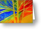 Photographs Painting Greeting Cards - Two Lives Intertwined  Greeting Card by Julie Lueders