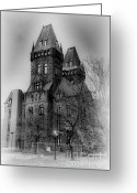 Buffalo New York Greeting Cards - Two towers 2 Greeting Card by Chuck Alaimo