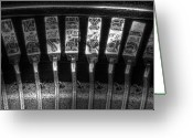 Strike Greeting Cards - Typewriter Keys Greeting Card by Tom Mc Nemar