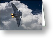 Raf Photo Greeting Cards - Typhoon Tag Greeting Card by Kris Dutson