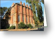 Brick Schools Greeting Cards - UC Berkeley . South Hall . Oldest Building At UC Berkeley . Built 1873 . 7D10113 Greeting Card by Wingsdomain Art and Photography
