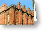 Brick Schools Greeting Cards - UC Berkeley . South Hall . Oldest Building At UC Berkeley . Built 1873 . 7D10114 Greeting Card by Wingsdomain Art and Photography