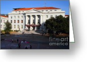 Occupy Photo Greeting Cards - UC Berkeley . Sproul Hall . Sproul Plaza . Occupy UC Berkeley . 7D10004 Greeting Card by Wingsdomain Art and Photography