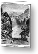 Uganda Greeting Cards - Uganda: Murchison Falls Greeting Card by Granger