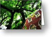 Pdx Art Greeting Cards - Under Cover Greeting Card by Cathie Tyler