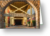 Acrylic Print Greeting Cards - Under The Bridge II Greeting Card by Steven Ainsworth