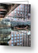 Charlestown Greeting Cards - Under the Bridge  Greeting Card by JC Findley