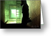 Counter Greeting Cards - Underground Greeting Card by Bob Orsillo