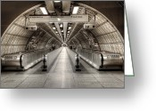 Staircase Greeting Cards - Underground Life 02 Greeting Card by Svetlana Sewell