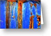 Mj Greeting Cards - Underwater Plastic Rain Greeting Card by Jerry Cordeiro