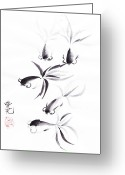 Oi Greeting Cards - Unity is Strength Greeting Card by Oiyee  At Oystudio