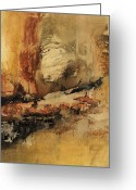 Rust Greeting Cards - Untitled 120706 Greeting Card by Michel  Keck