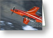 Afterburner Greeting Cards - Upside Down Greeting Card by Angel  Tarantella