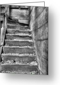 Fauquier County Greeting Cards - Upstairs  Greeting Card by JC Findley