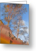 Urban Canyon Greeting Cards - Urban Canyon Greeting Card by Tim Allen
