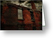 Abandoned Train Greeting Cards - Urban Decay Greeting Card by Scott Hovind