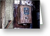 Nh Greeting Cards - Urban Decay  Start and Stop Box Greeting Card by Edward Myers