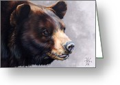 Introspective Mixed Media Greeting Cards - Ursa Major Greeting Card by J W Baker