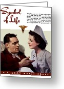 Second Greeting Cards - US Army Nurse Corps Greeting Card by War Is Hell Store