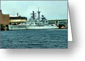 Buffalo New York Greeting Cards - USS Little Rock Greeting Card by Ely Arsha