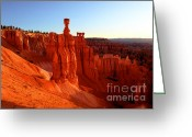 Thor Photo Greeting Cards - Utah - Thors Hammer 2 Greeting Card by Terry Elniski