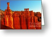 Thor Photo Greeting Cards - Utah - Thors Hammer 3 Greeting Card by Terry Elniski