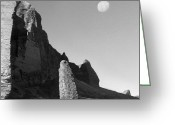 Rock Formation Greeting Cards - Utah Outback 32 Greeting Card by Mike McGlothlen