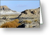 Rock Formation Greeting Cards - Utah Outback 42 Greeting Card by Mike McGlothlen