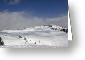 "\""colorado Resort\\\"" Greeting Cards - Vail Resort - Colorado Greeting Card by Brendan Reals"