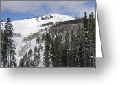 "\""colorado Resort\\\"" Greeting Cards - Vail Resort Colorado Greeting Card by Brendan Reals"