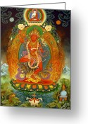 Mantrayana Greeting Cards - Vajravarahi Greeting Card by Art School