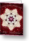 True Feelings Greeting Cards - Valentine Card Greeting Card by Debra     Vatalaro