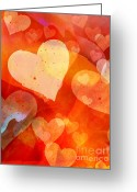Valentine Greeting Cards - Valentine Greeting Card by Lutz Baar
