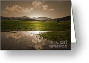 Winter Photos Greeting Cards - Valles Dream Greeting Card by Andrea Hazel Ihlefeld