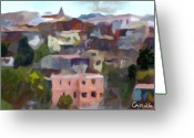 Retratos Greeting Cards - Valparaiso - Chile Greeting Card by Carlos Camus