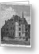 Vanderbilt Greeting Cards - Vanderbilt Mansion 1882 Greeting Card by Granger