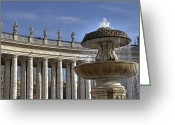 Vatican City Greeting Cards - Vatican - St. Peters Square Greeting Card by Joana Kruse