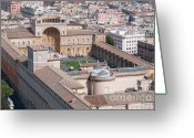 Vatican City Greeting Cards - Vatican Museums Greeting Card by Andy Smy