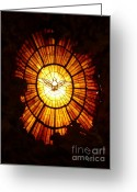 Roman Catholic Greeting Cards - Vatican Window Greeting Card by Carol Groenen