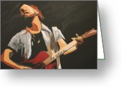Vedder Greeting Cards - Vedder Greeting Card by Steven Dopka