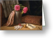 Cent Greeting Cards - Venetian Memory Greeting Card by Lyndall Bass